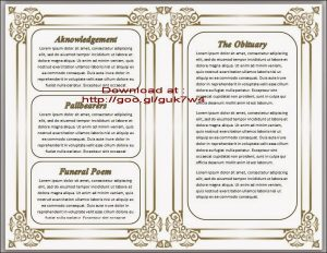 free obituary program template download free obituary template ucvdvv
