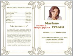 free obituary program template download printable funeral program template free download by sammbither dqqqt
