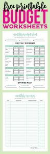 free personal budget template keeping track of expenses spreadsheet templates free download