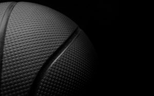 free photography contract gray ball basketball black background sport hd wallpaper
