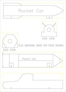free pinewood derby car templates derby car templates