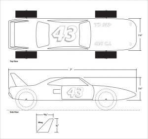 free pinewood derby car templates download speed jet pinewood derby template