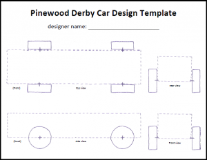 free pinewood derby car templates pinewood derby car template icon