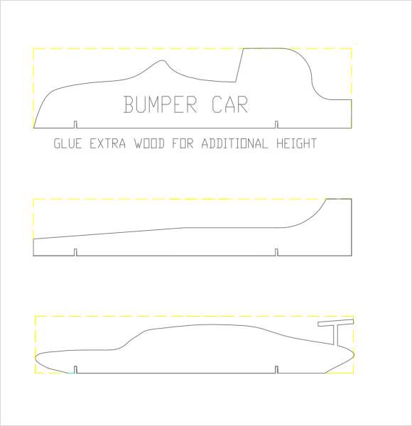 free pinewood derby templates