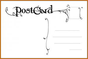 Free Postcard Templates Postcard Template Free Postcard  Postcard Templates Free