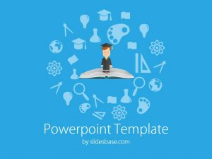 free powerpoint templates for teachers slide education book student elementsofeducation powerpoint template