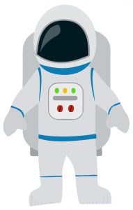 free preschool newsletter templates astronaut