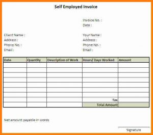 free printable application for employment template invoice template for self employed self employed invoice template