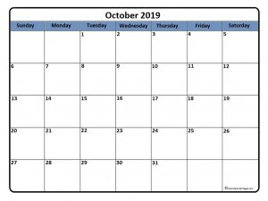 free printable banner templates october calendar db