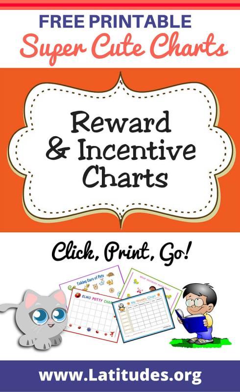 free printable behavior charts