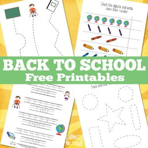 free printable bingo cards with numbers simple back to school free printables