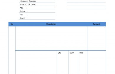 free printable blank invoice templates free invoice template word ueiuq