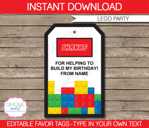 free printable candy bar wrappers templates lego thank you favor tag