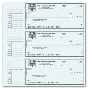 free printable check stubs large