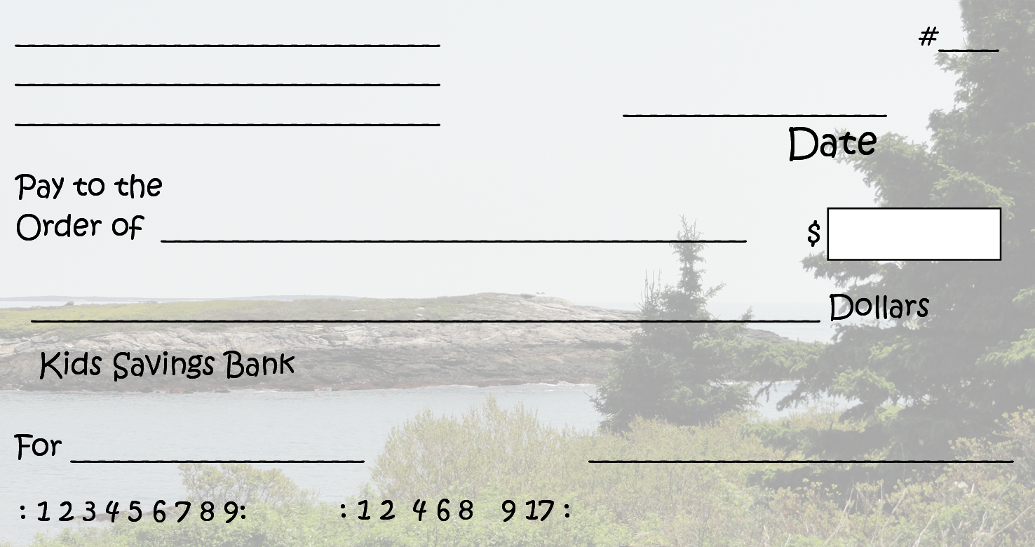 Free Printable Checks Template | Template Business