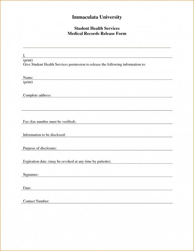 Free Printable Child Medical Consent Form Template Business