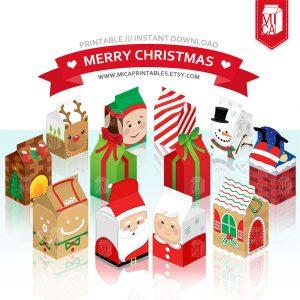 free printable family tree template christmas party printable milk carton favor box by micaprintables dun