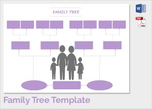 free printable family tree template colourfull family tree template