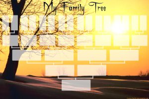 free printable family tree template genealogy chart printout