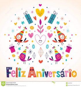 free printable id cards templates anniversaire de feliz aniversario brazilian portuguese happy