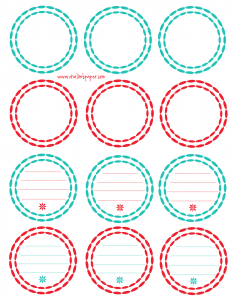 free printable label templates for word free printable round tags and labels