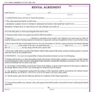 free printable lease agreement free printable rental agreements