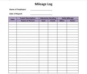 free printable mileage log printable mileage log templates free template lab with printable mileage log