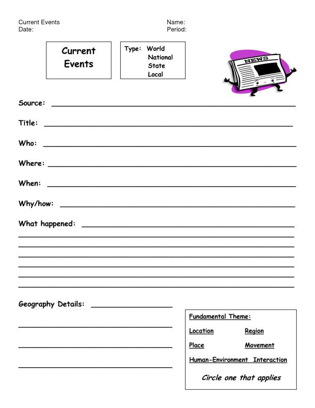 graphic regarding Current Events Worksheet Printable identified as Absolutely free Printable Regular Price range Worksheets Template Enterprise