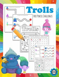 free printable order forms troll pencil challenges page freebie