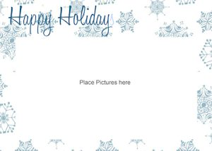 free printable postcard templates picture card