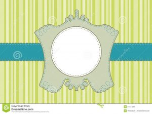 free printable postcard templates scalloped label frame