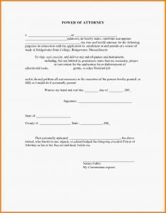 free printable power of attorney forms free printable power of attorney forms slide cb