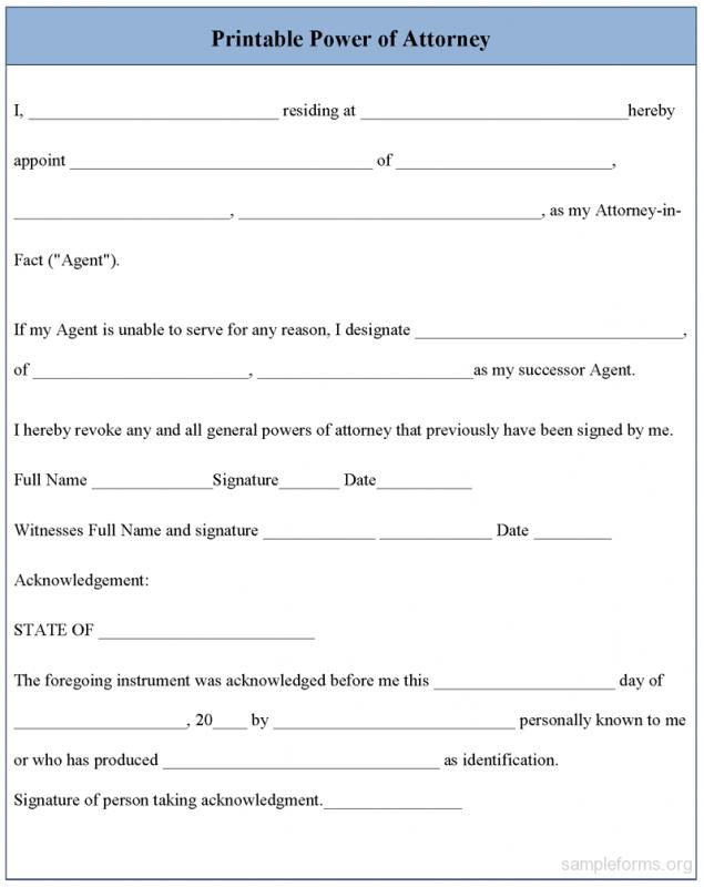 photo about Power of Attorney Forms Free Printable identified as Totally free Printable Electrical power Of Lawyer Varieties Template Business enterprise