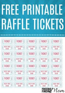 free printable raffle tickets free printable raffle tickets pin