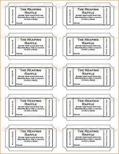free printable raffle tickets printable raffle ticket template p