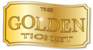 free printable raffle tickets template golden ticket