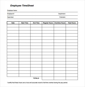 free printable time sheets free printable timesheet template download in pdf