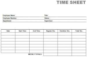 free printable time sheets printable blank pdf time card time sheets