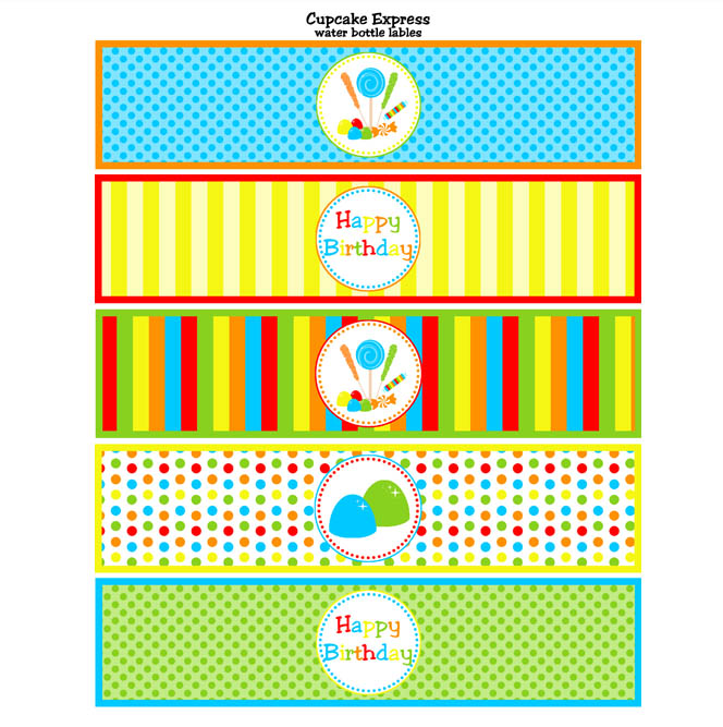 photo relating to Free Printable Water Bottle Labels for Birthday referred to as H2o Beginning: Satisfied Birthday Drinking water Bottle Labels Absolutely free