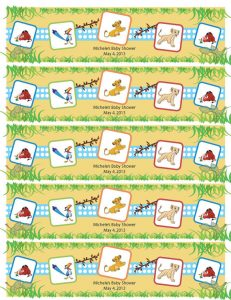 free printable water bottle labels for baby shower il xn heg