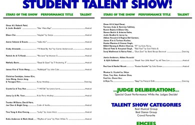 free printable wedding program templates word talent show template talent show program template mileage