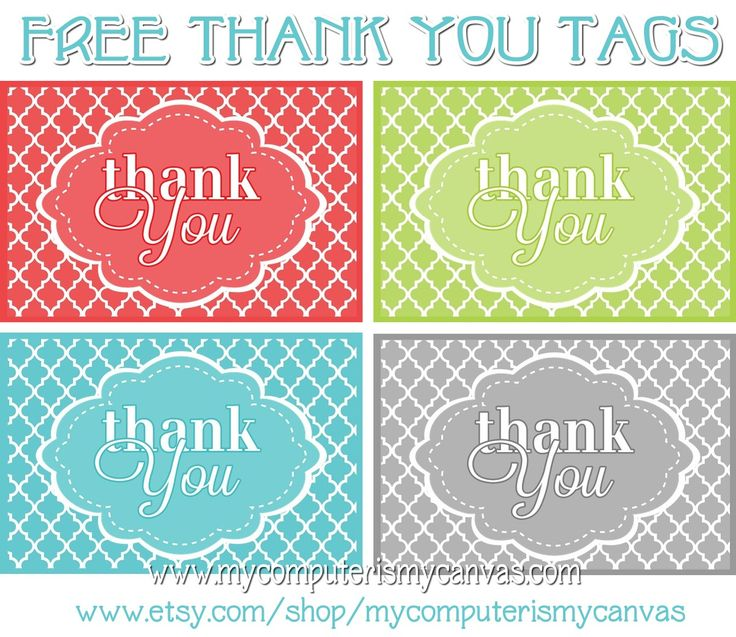 picture regarding Thank You Printable Tag identify Cost-free Printables Thank Your self Tags Template Workplace