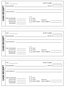 free receipt template free cash receipt template