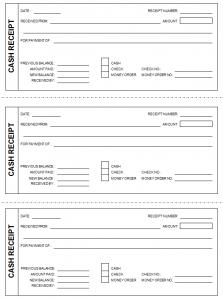 free receipt template free cash receipt template
