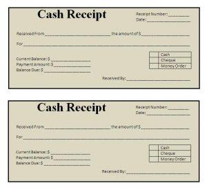 free receipt template free receipt template