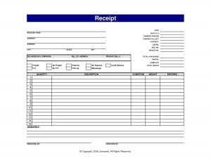 free receipt template printable receipt template