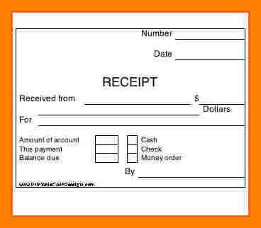 Free Rent Receipt Template  Free Rent Receipt Template