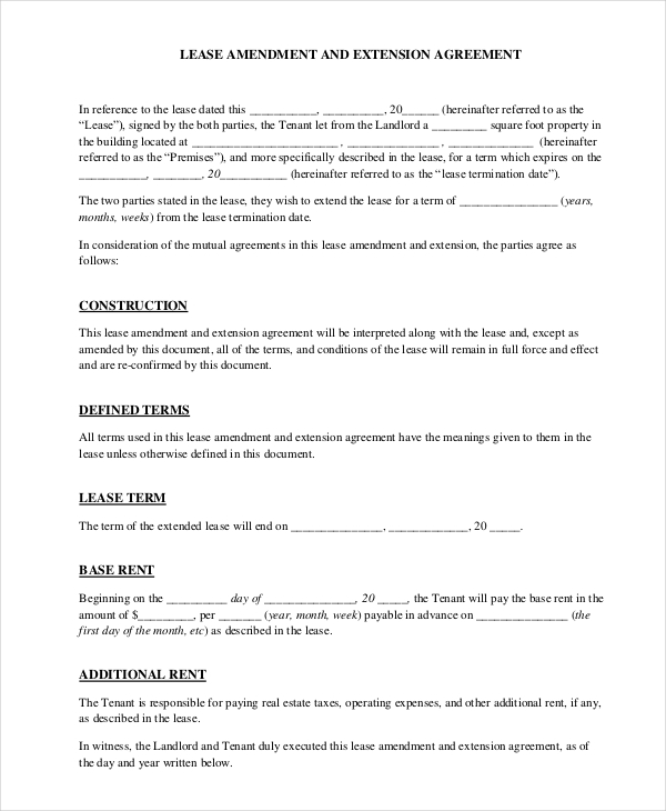 Free Rental Agreement Forms