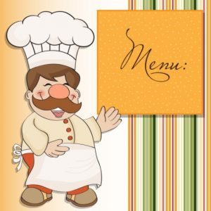 free restaurant menu templates cute cartoon restaurant menu design vector