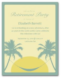 free retirement party invitation templates for word invitation templates retirement dinner dfnjisq